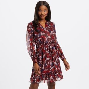 Draper James Floral Peasant Smocked Dress
